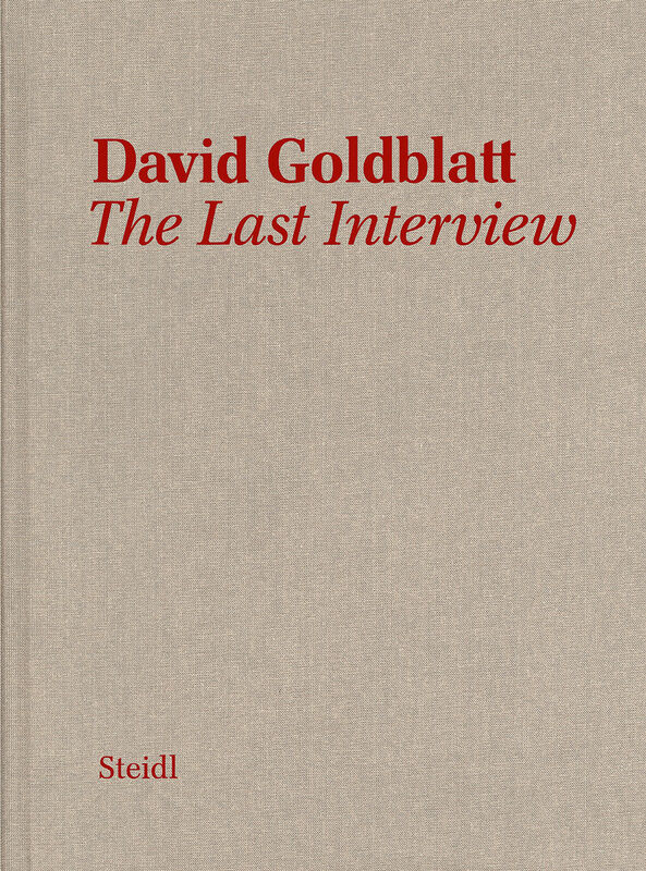 David Goldblatt – The Last Interview
